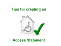 holiday home access statement